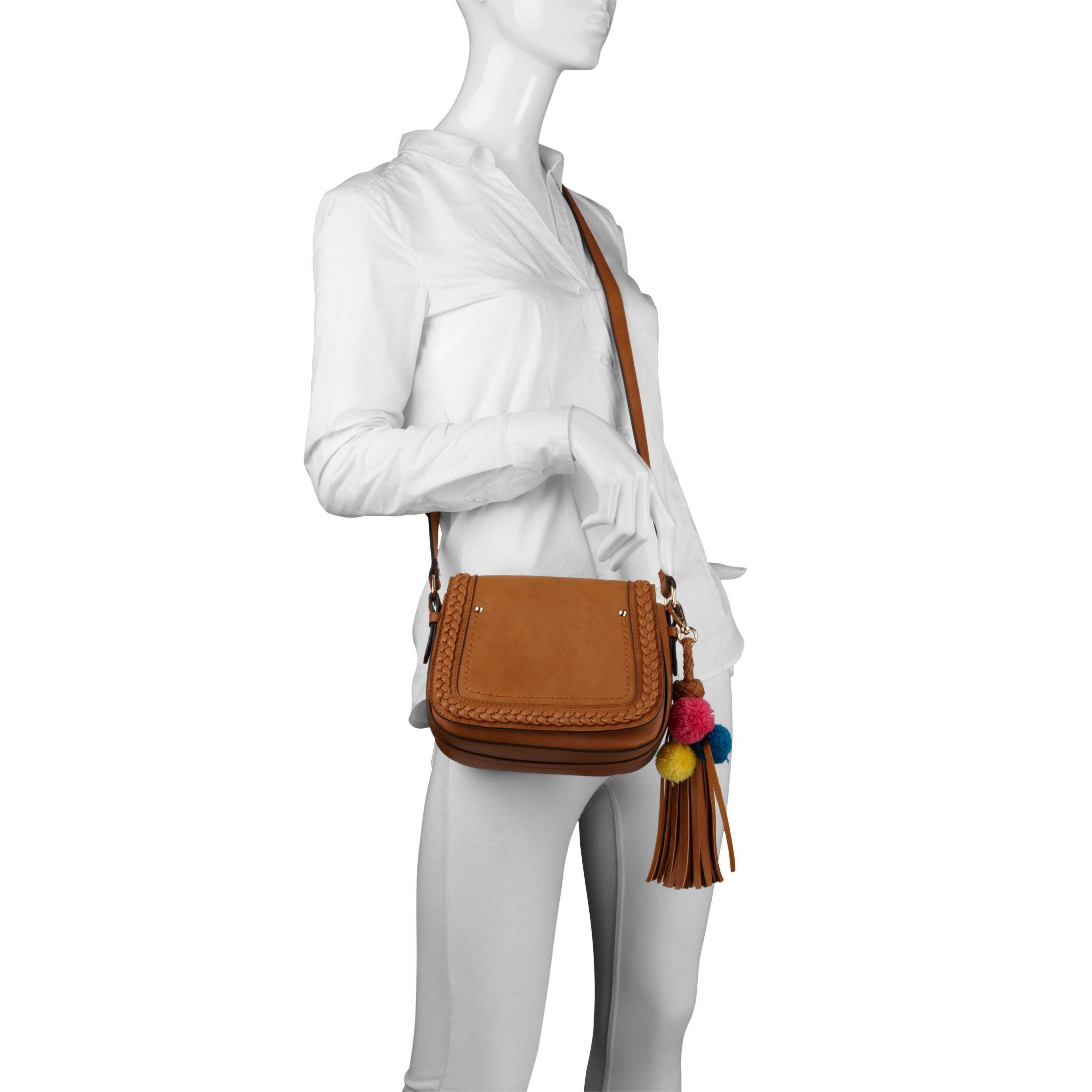 Aldo Challberg Cross Body Bag In Brown Lyst