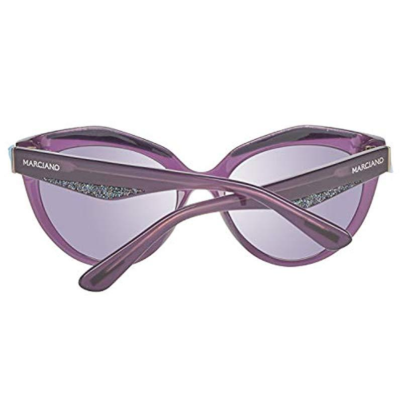 Guess By Marciano Ladies Sunglasses Butterfly Purple - Lyst