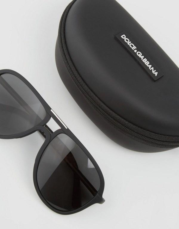 Dolce & Gabbana Aviator Sunglasses - Black Men Lyst