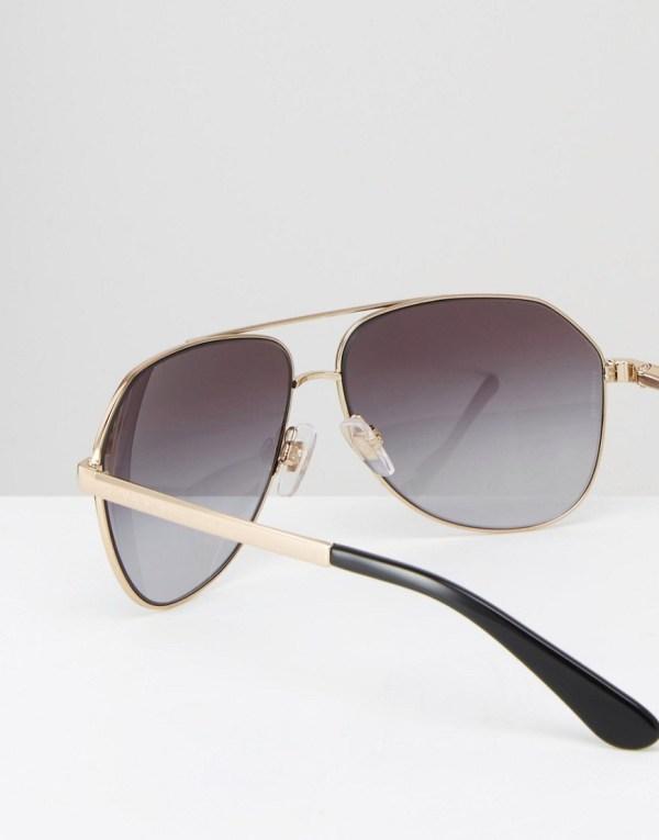 Dolce And Gabbana Black Aviator Sunglasses David Simchi-levi