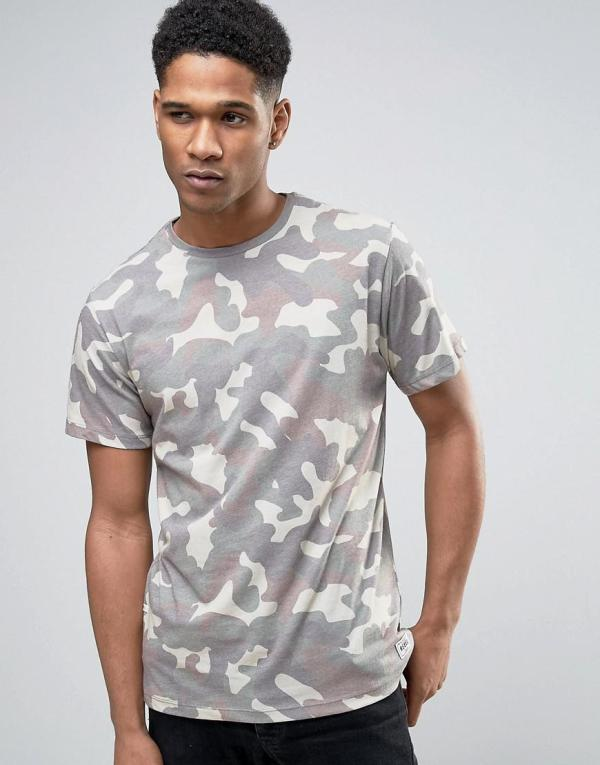 Redefined Rebel T-shirt Camo In Green Men - Lyst
