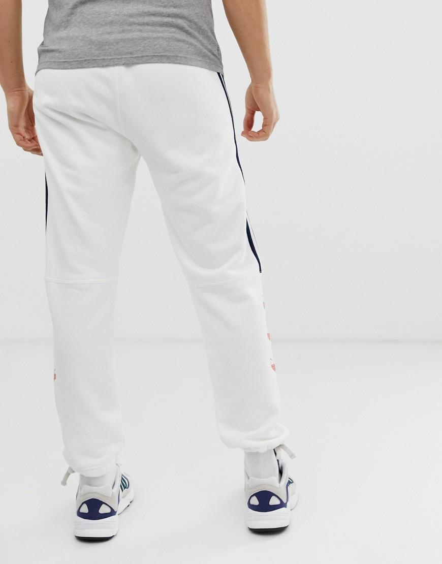 Adidas Schwarz Jogginghose Weißen Mit Streifen qpUVGMSz