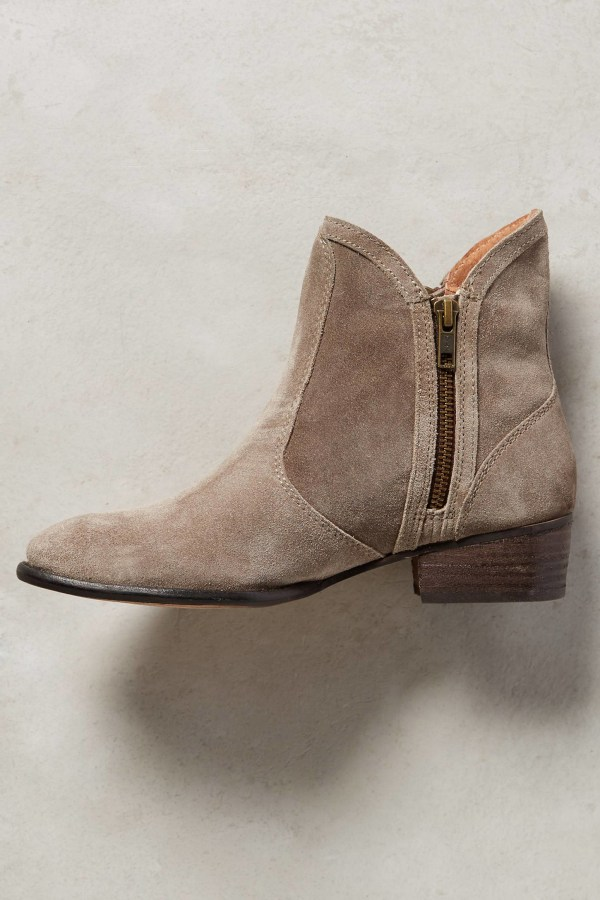 Lyst - Seychelles Lucky Penny Booties In Brown