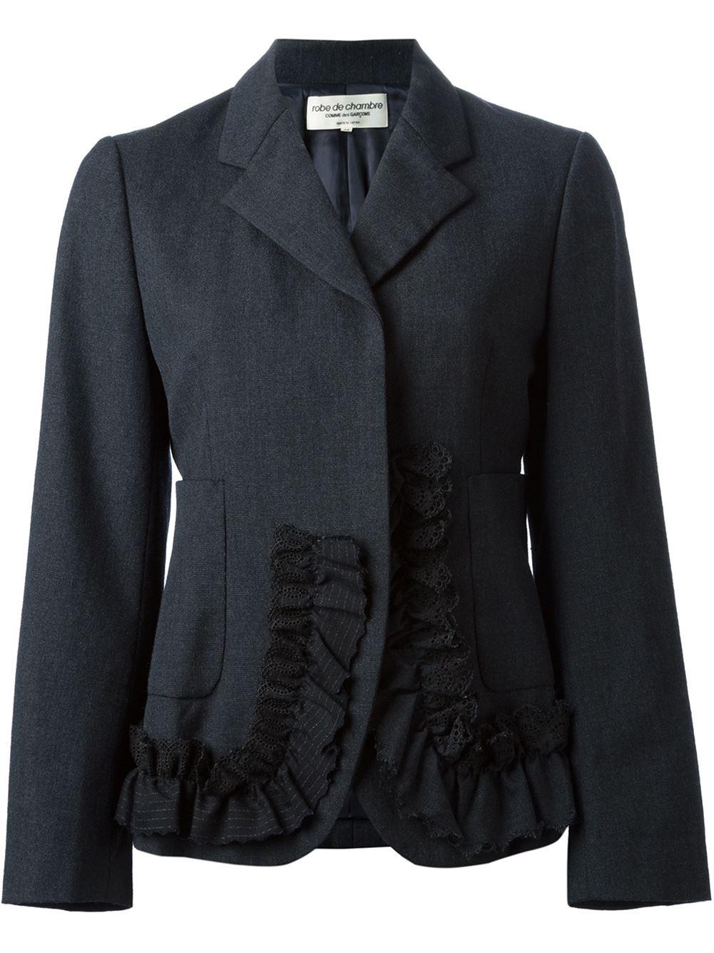 Comme des garons robe De Chambre Jacket in Multicolor grey  Lyst