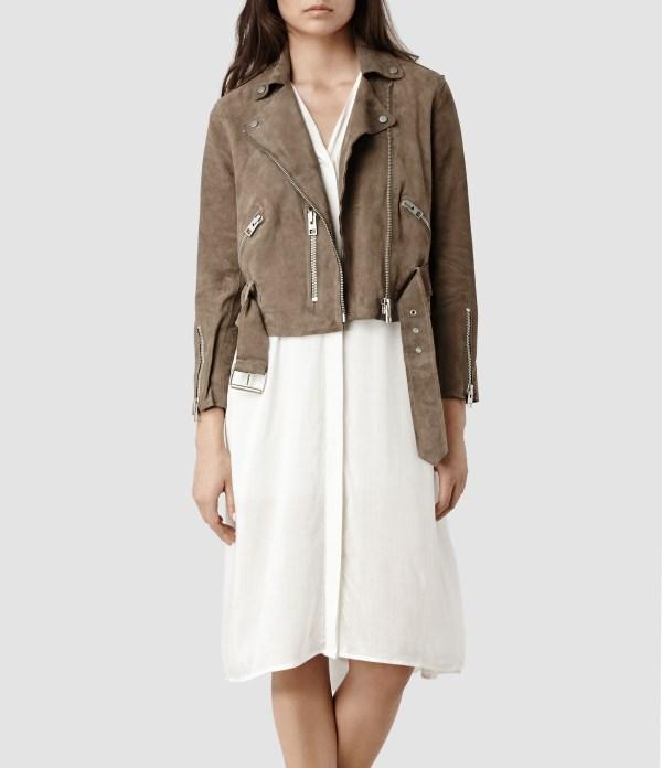 All Saints Leather Jacket Sale