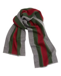 Gucci Striped Wool and Silkblend Scarf in Red for Men   Lyst
