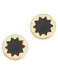 House of harlow 1960 Sunburst Stud Earrings in Gold | Lyst