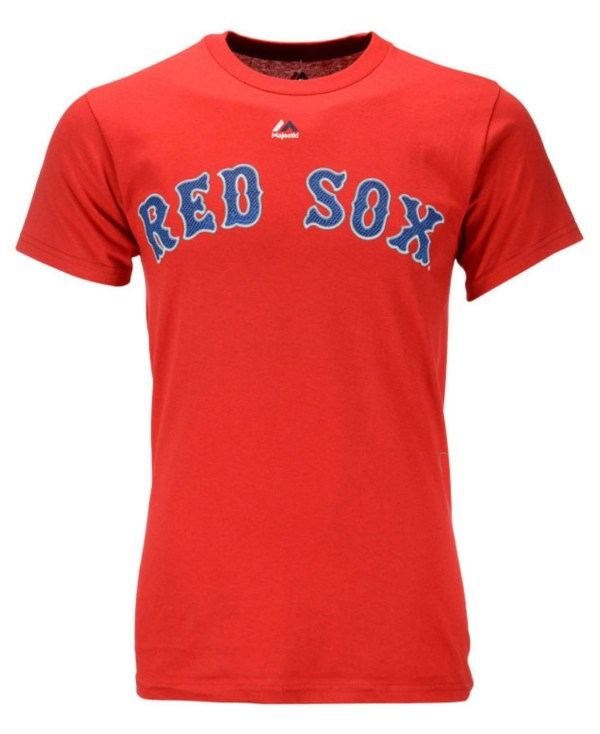 Majestic Mens' Xander Bogaerts Boston Red Sox Player T