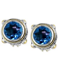 Effy collection Balissima By Effy Blue Topaz Round Stud
