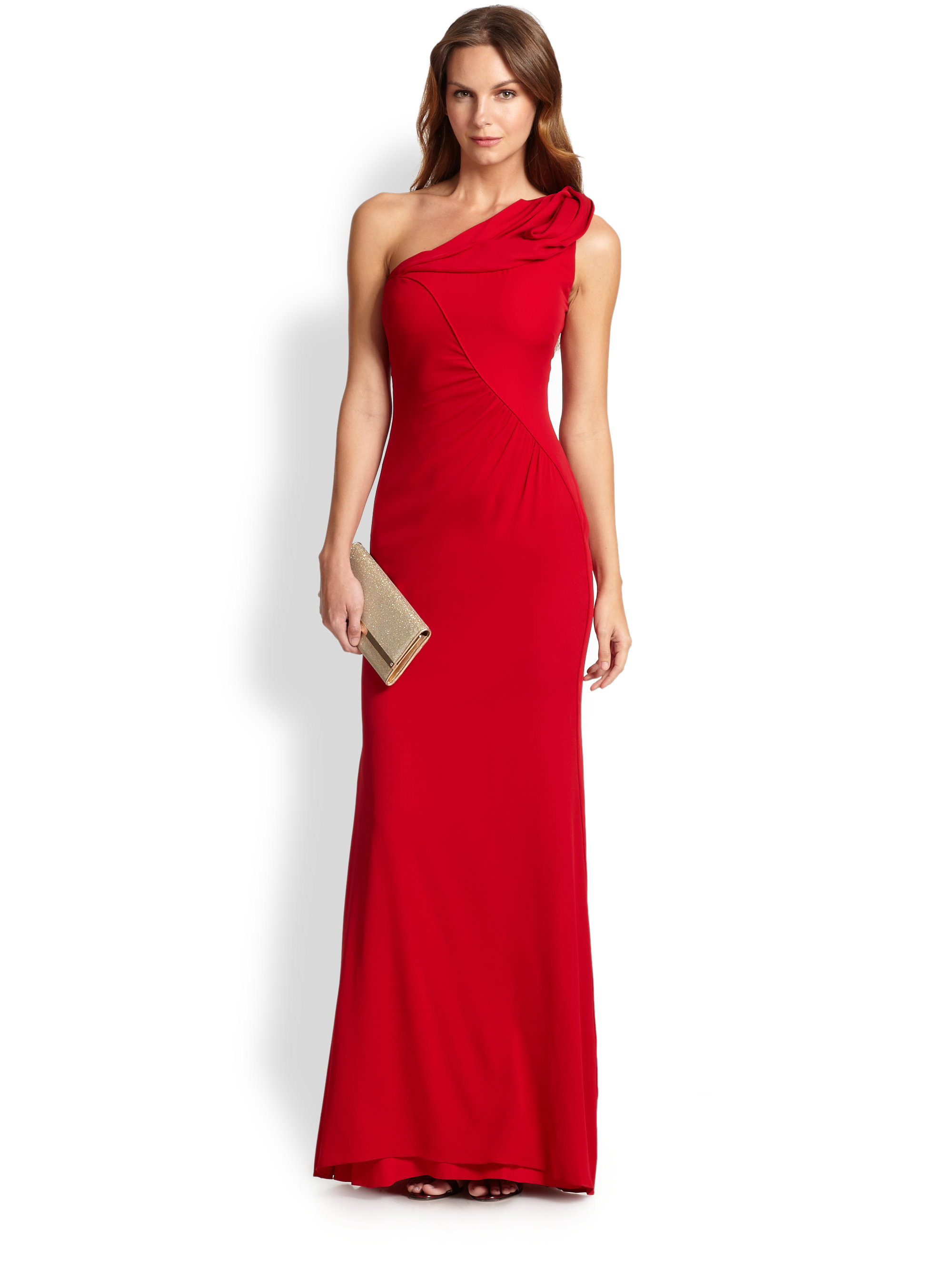 Badgley Mischka One Shoulder Dress Other Dresses Dressesss