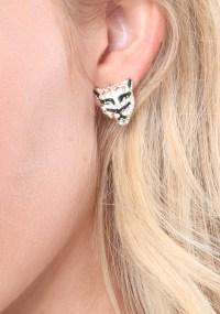 Bebe Lion & Stud Earring Set in Metallic - Lyst