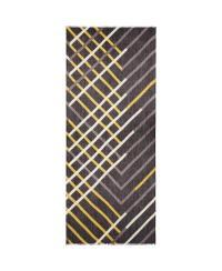Lyst - Aqua Diagonal Stripe Scarf in Black