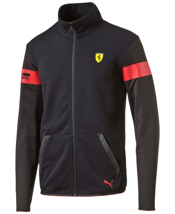 Puma Men' Ferrari Track Jacket In Black Men - Save 25