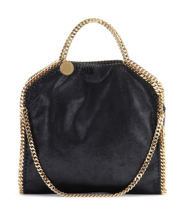 Stella Mccartney Falabella Small Shoulder Bag In Black - Lyst