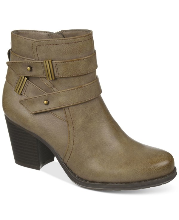 Naturalizer Tipper Booties In Natural Lyst
