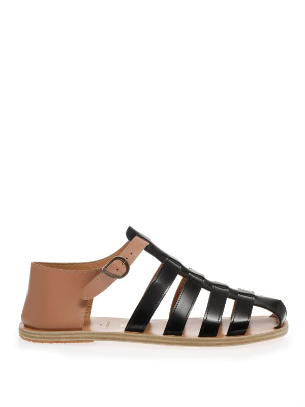 Lyst - Ancient Greek Sandals Homer In Black Men