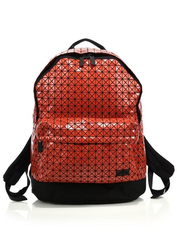 Bao Issey Miyake Daypack Backpack In Orange Lyst f134a6669baa9