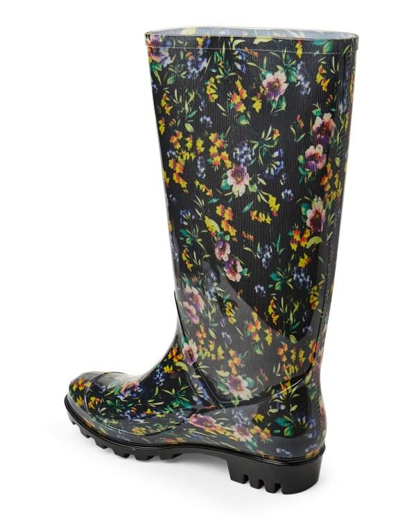Nicole Miller Magda Print Rain Boots - Lyst