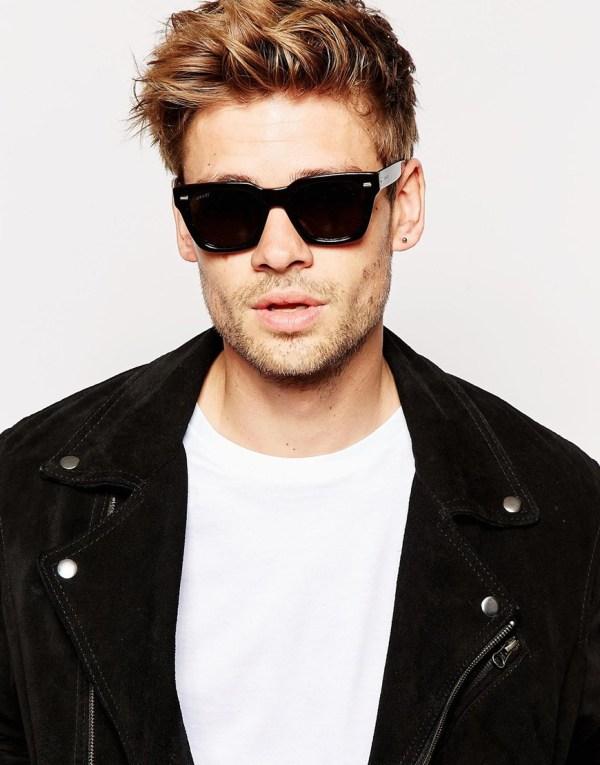 Lyst - Gucci Wayfarer Acetate Sunglasses In Black Men