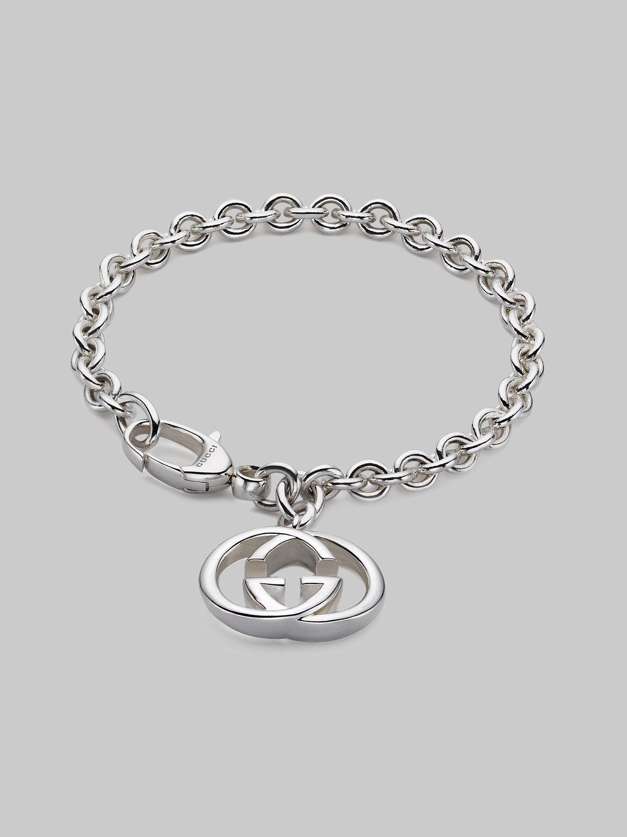 5606a2af3 Gucci Heart Charm Bracelet Selfridgescom