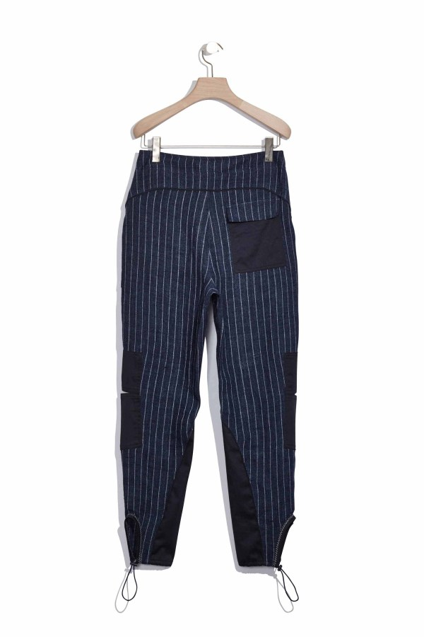 3.1 Phillip Lim Linen Cargo Pant In Blue Lyst