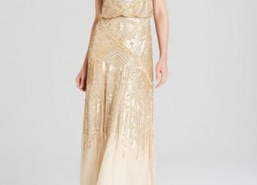 d0bad3d7d26 Adrianna Papell Wedding Dress Lyst Adrianna Papell Sleeveless Jeweled Beaded  Pleated. Adrianna Papell Sleeveless Beaded Blouson Gown