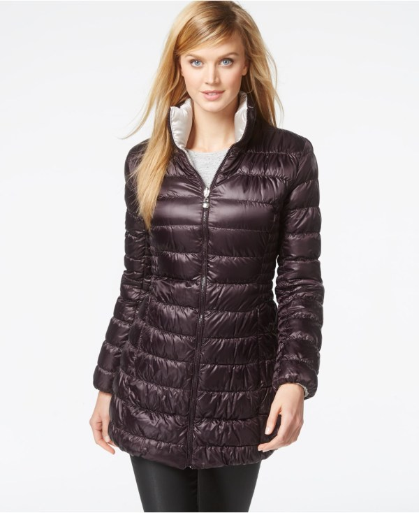 Laundry Shelli Segal Reversible Packable Puffer