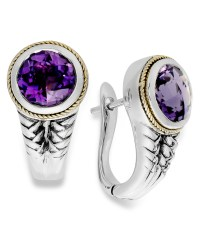Effy collection Balissima By Effy Amethyst Earrings (3-1/3 ...