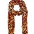 Patricia nash 70s revival collection scarf in multicolor 70s revival