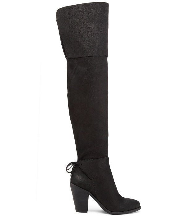 Jessica Simpson Cassina Over Knee Boots In Black Lyst