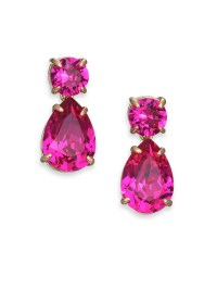 Kate spade new york Fancy That Crystal Double-drop ...