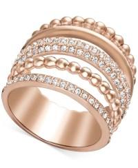 swarovski crystal rose gold ring ,swarovski jewelry outlet