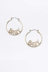 Baby Hoop Earrings Spectacular Deal On Jennifer Fisher 1 5