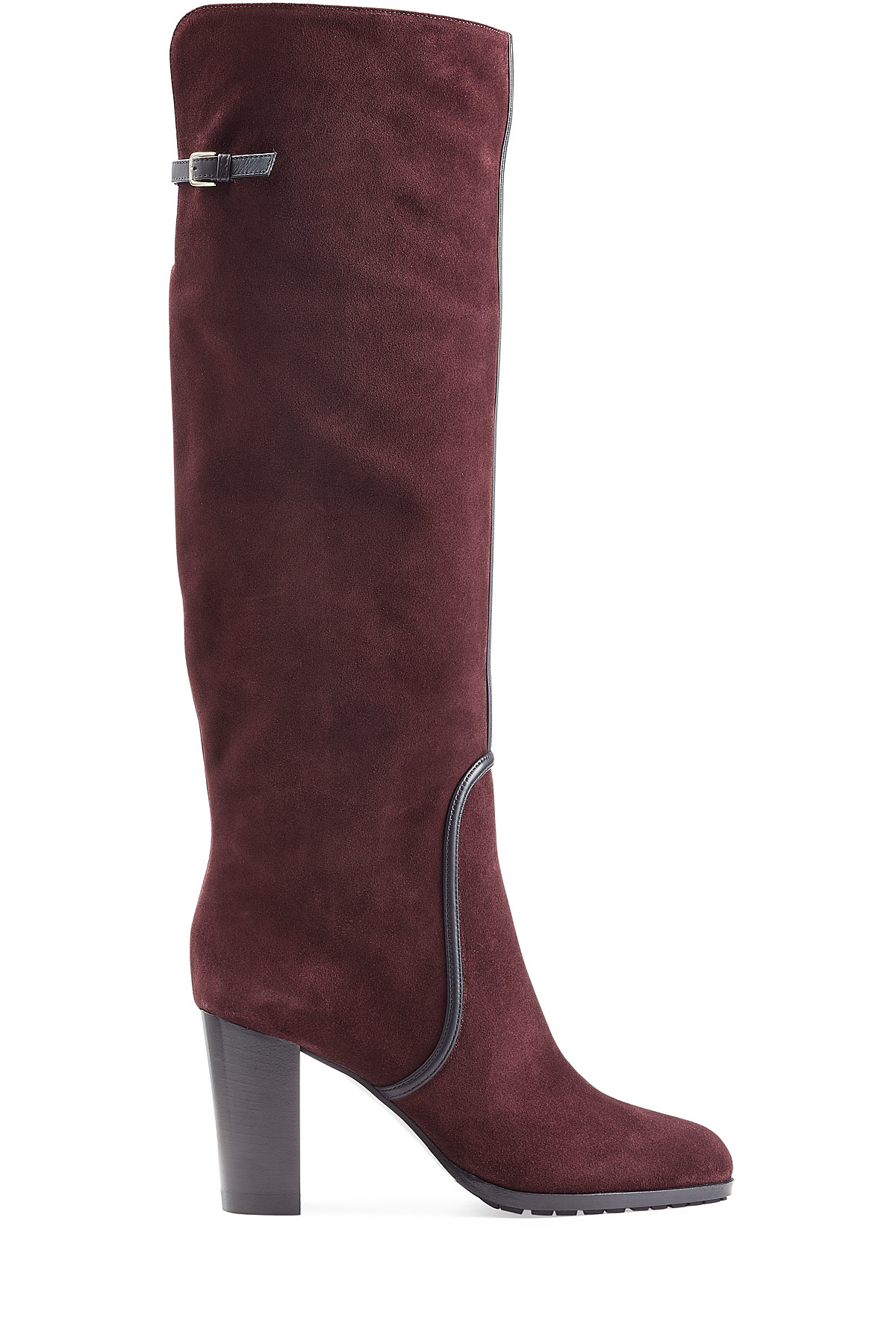 647a4c50927 Boots Red Suede Over Knee