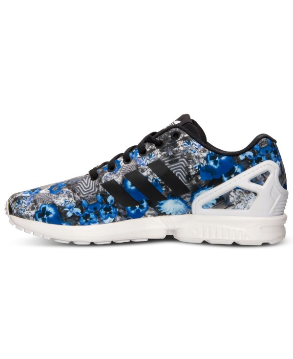 Lyst Adidas Originals Men39s Zx Flux Floral Print Running