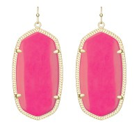Kendra scott Danielle Earrings in Pink (yellow) | Lyst