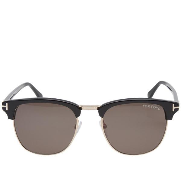 Lyst - Tom Ford Ft0248 Henry Sunglasses In Black