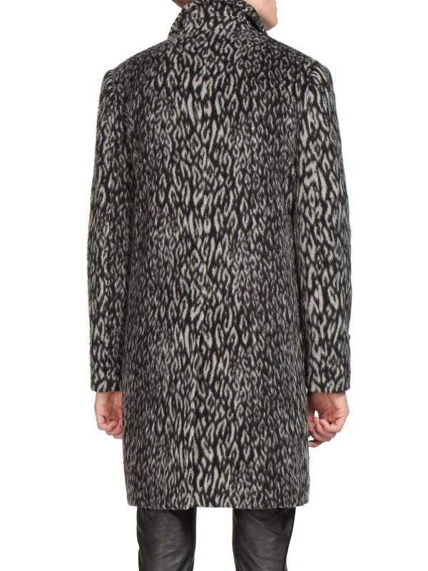 Leopard Wool Coat Fashion Women' 2017