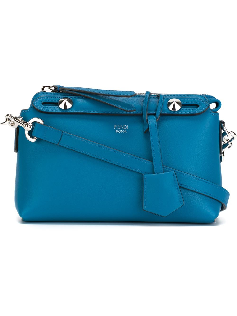 Fendi Small 'by The Way' Tote in Blue - Lyst