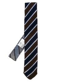 Lyst - Lardini Striped Neck Tie in Blue for Men