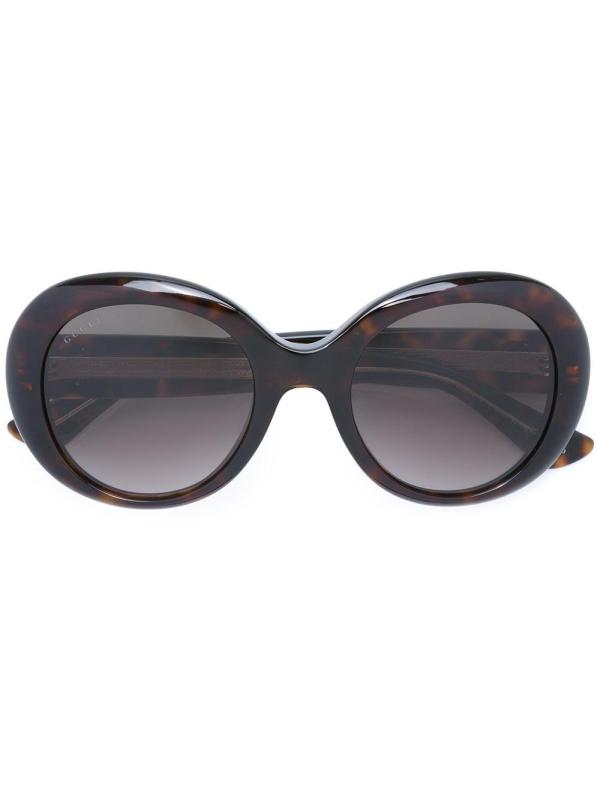 0c904d4672619 ... Lyst - Gucci Oversized Sunglasses In Brown ...