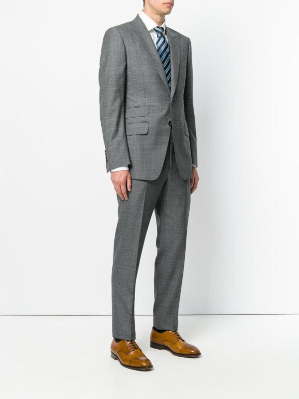 Tom Ford Two Piece Formal Suit In Gray Men - Lyst