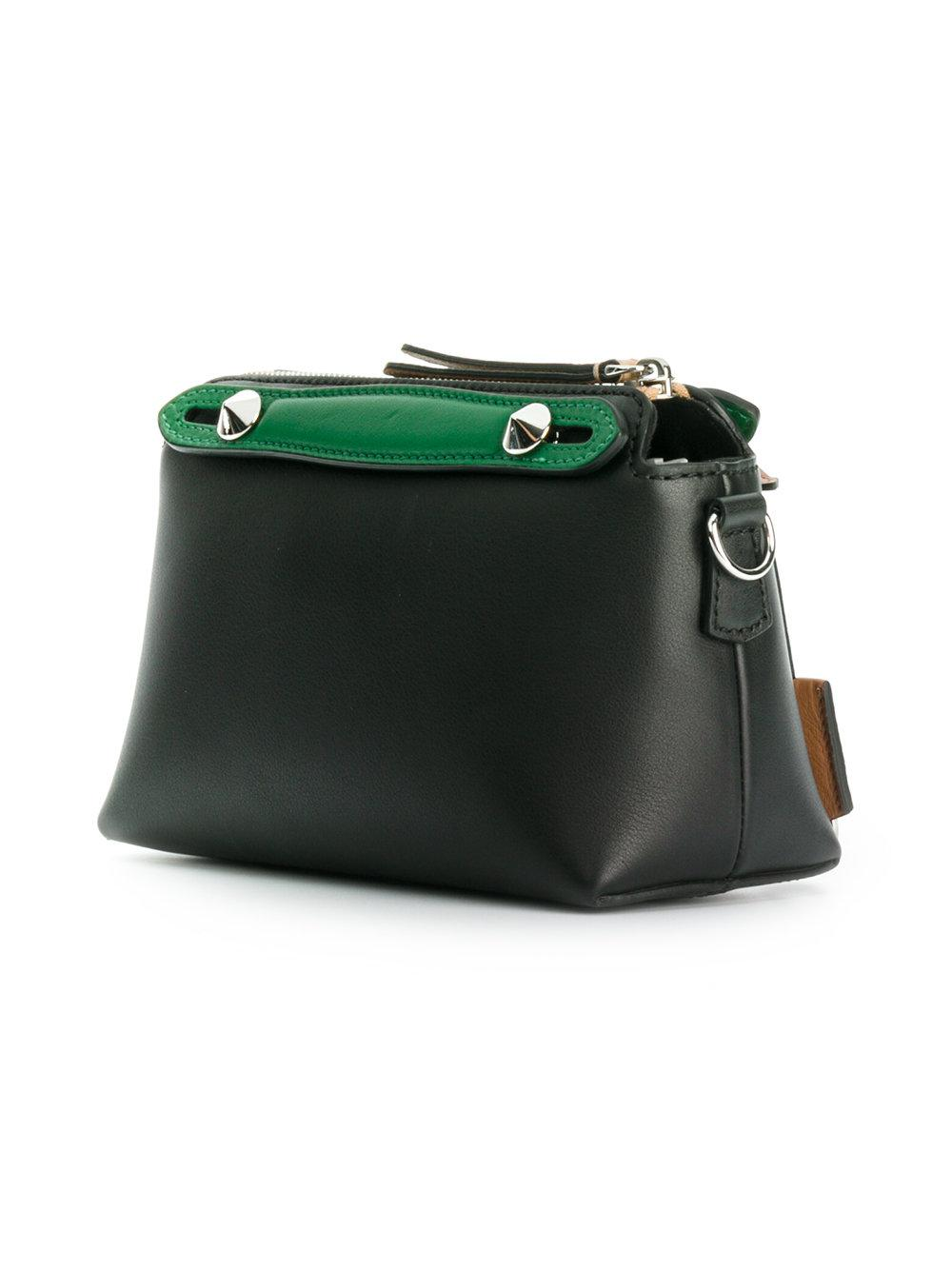 Fendi Leather By The Way Tote in Black - Lyst