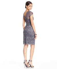 js collections dress long sleeve sequin lace | ivo hoogveld