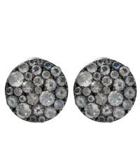Stephen dweck Rainbow Moonstone Pave Stud Earrings in ...