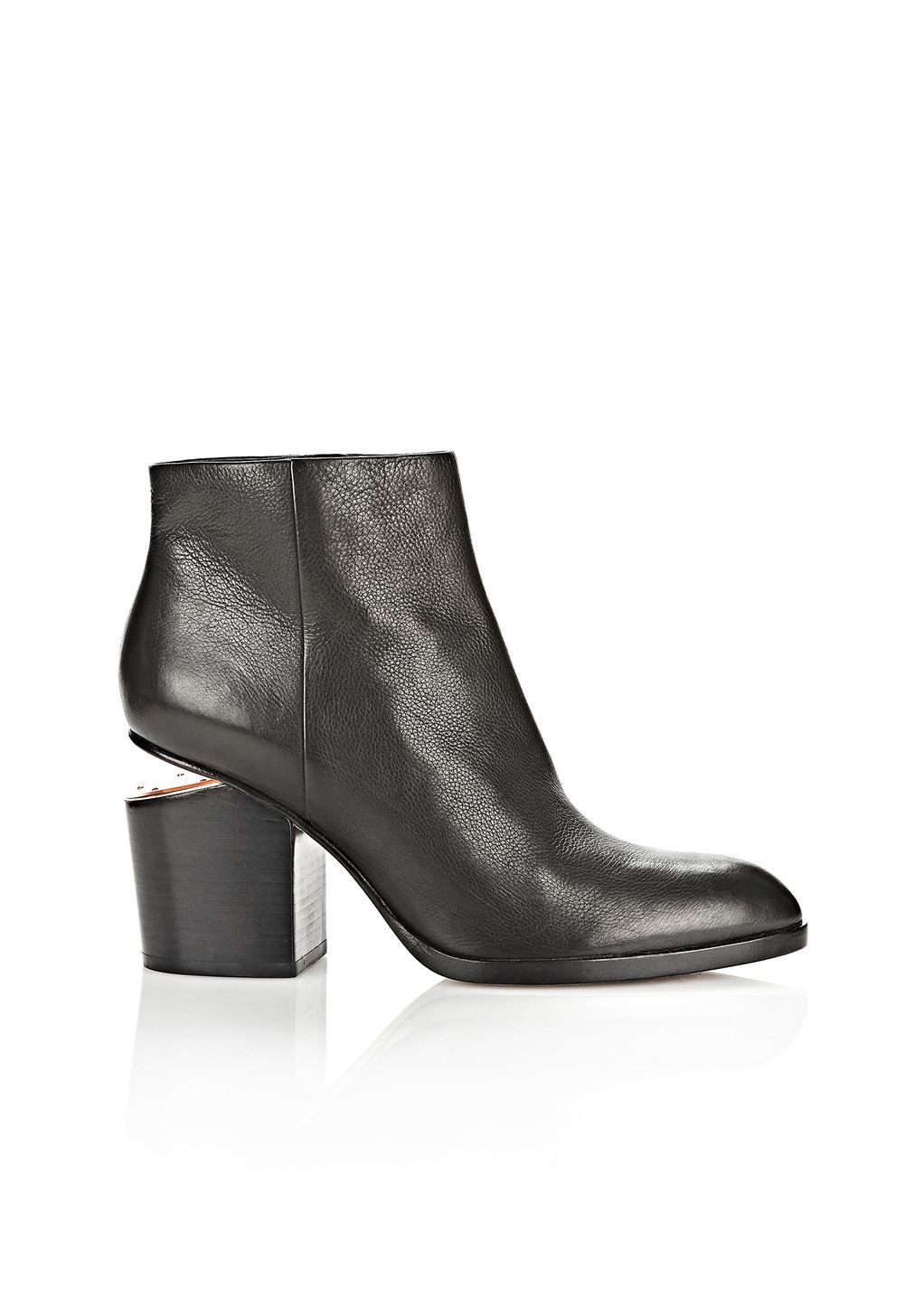 Lyst  Alexander Wang Gabi Ankle Boots in Black