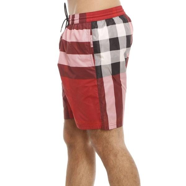 Burberry Men' Swimwear In Red Men Lyst