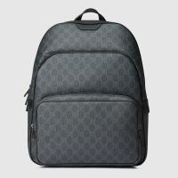 Lyst - Gucci Gg Supreme Canvas Backpack in Gray for Men