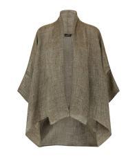 Eskandar Wide Short Sleeve Shawl Collar Jacket | Lyst