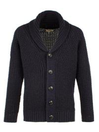 Lyst - Gibson Chunky Knit Shawl Cardigan in Blue for Men